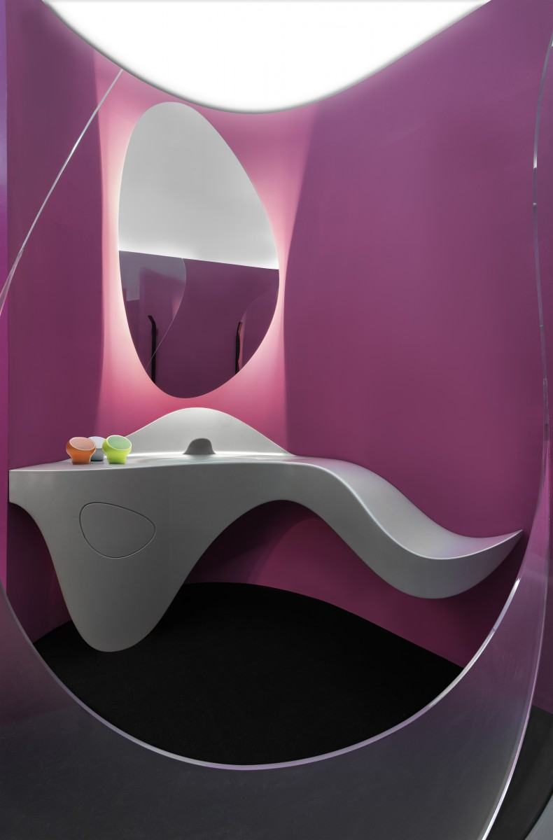 komb house by karim rashid exhibition contents pinterest. Black Bedroom Furniture Sets. Home Design Ideas